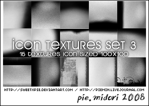 Icons Textures Set 03 by sweetxpie