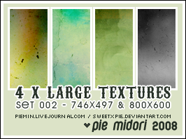 Large Textures Set 2 by sweetxpie
