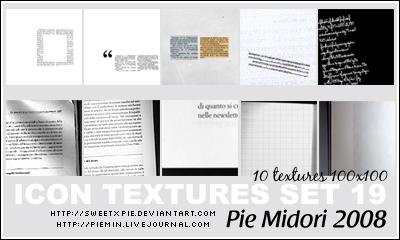 Icon Textures set 19 by sweetxpie