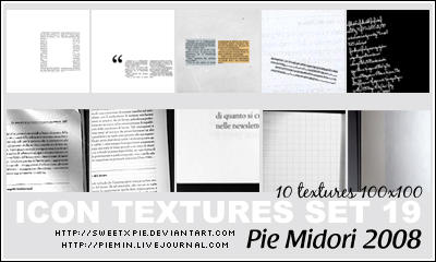 Icon Textures set 19 by sweetxpie