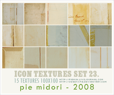 Icon Textures set 23 by sweetxpie