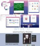Whit-e an elementary OS theme