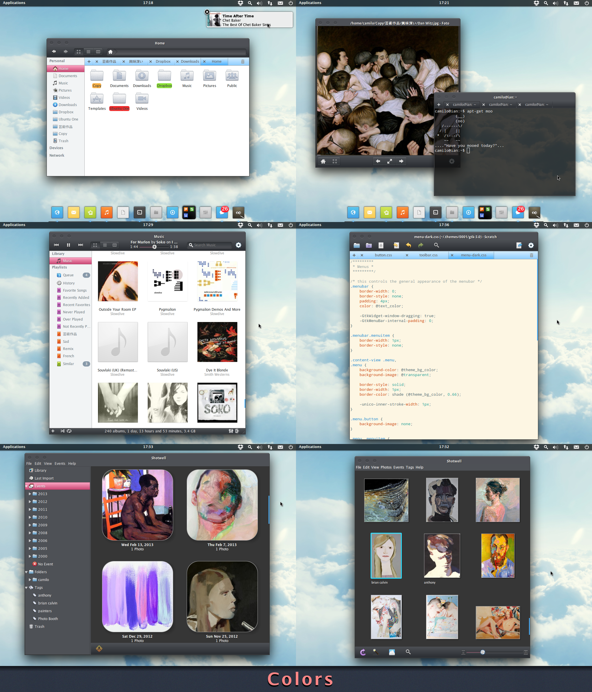 Colors - an elementary OS theme
