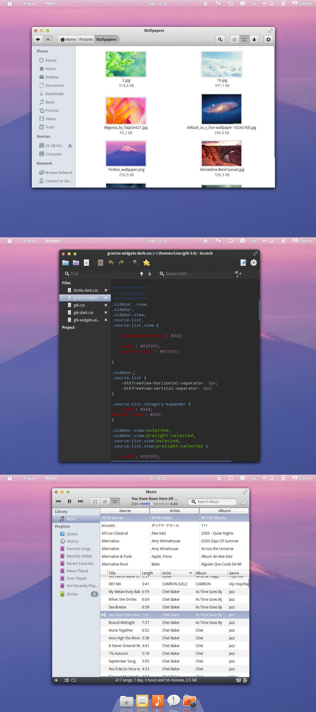 Lion GTK 3.8 by kxmylo