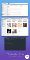 Yosemite GTK 3.14/3.16 Theme Alpha4 by kxmylo