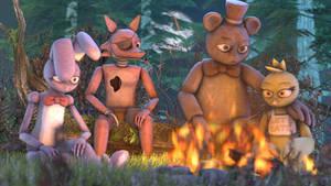 Tgweaver FNAF Animatronics Official Release (SFM) by Ionyen