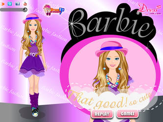 Barbie Fahion Dressup by willbeyou
