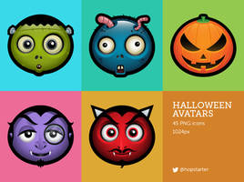 Halloween Avatars by hopstarter