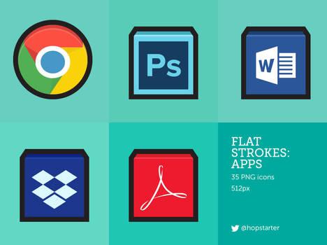Flat Strokes Apps