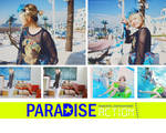 Paradise PSD action