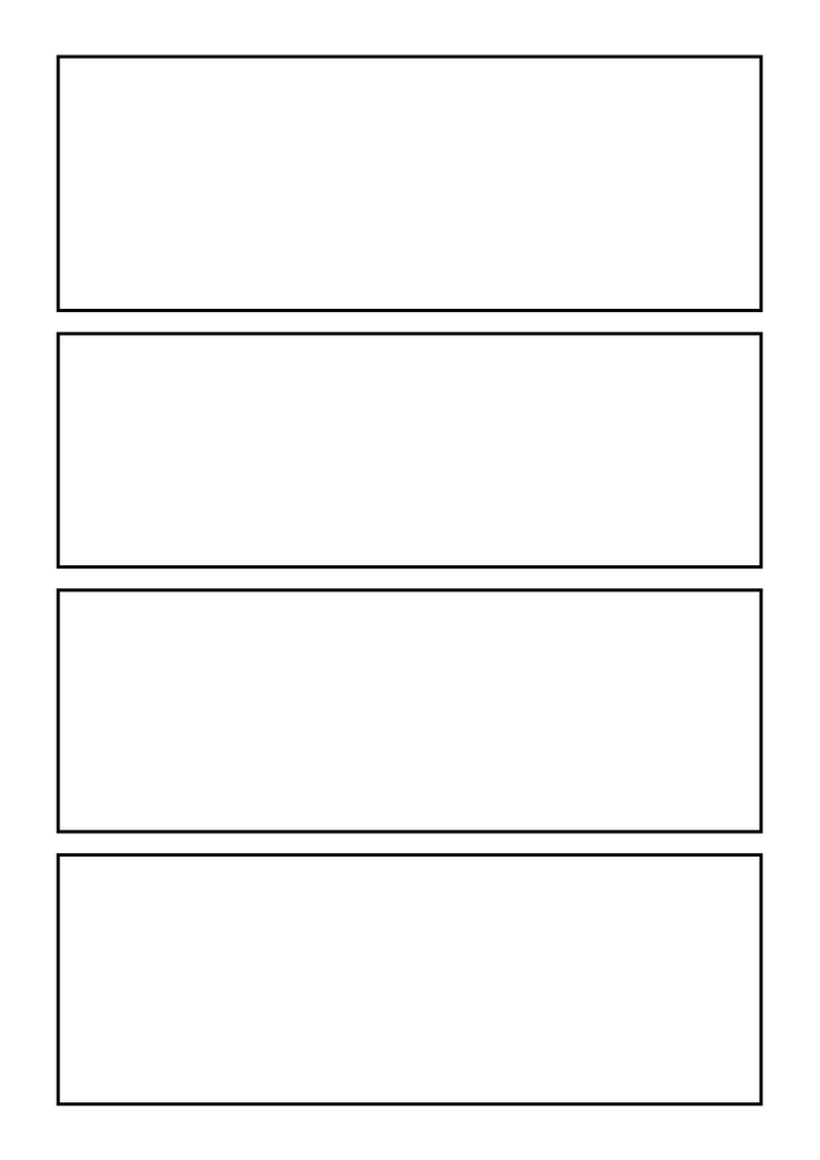 4koma yonkoma template a4 300dpi by hananon on deviantart for Craft fair application template