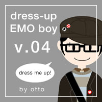 dress-up EMO boy . game by porotto