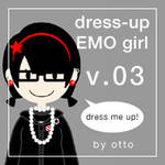 dress-up EMO girl . game