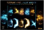 Texture Fire- Blue water 2013