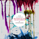 23 Large Watercolor Textures / 02