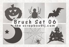 Brush Set 06 - Halloween 2010 by bystrawbrry