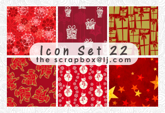 Icon Texture Set 22-Christmas by bystrawbrry