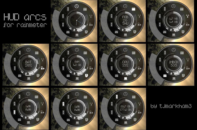 HUD arcs by teejay3