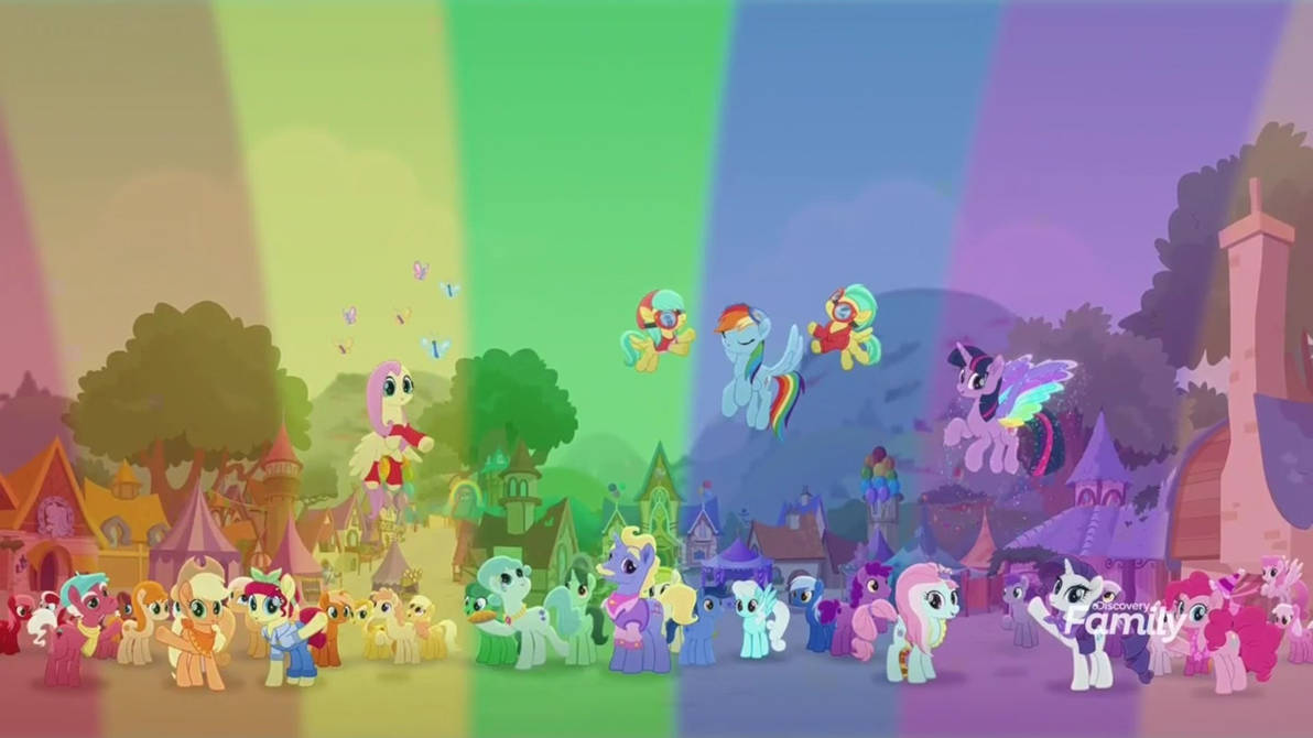 Image result for MLP hope hollow rainbow""