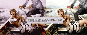 Purplish Orange Coloring PSD by ll-AranzA-ll