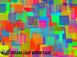 Square GIMP Brushes (For GIMP 2.6)