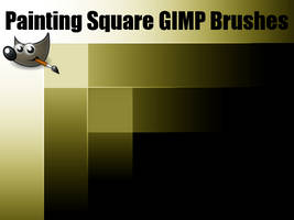 Painting Square GIMP Brushes (For GIMP 2.6)