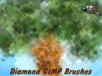Diamond GIMP Brushes (For GIMP 2.6)