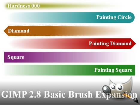 GIMP 2.8 Basic Brush Expansion