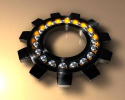 Ball Bearing Gear_Black by R-Nader