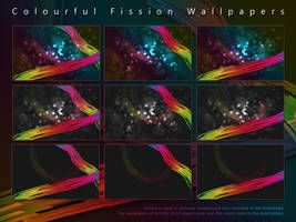 Colourful Fission Wallpapers by salmanarif