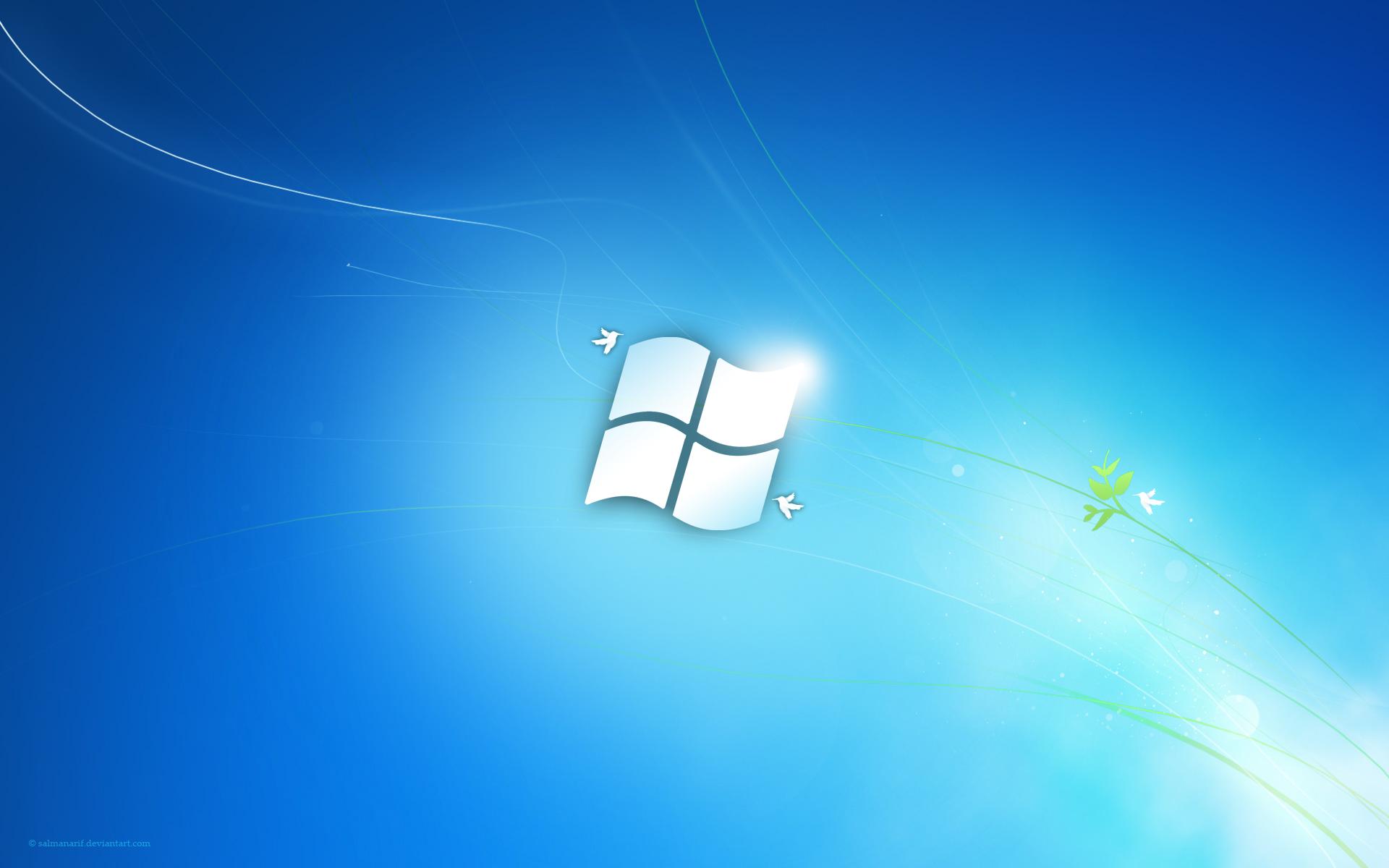 Windows 7 Flag by salmanarif