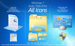 Windows 7 RTM Build 7600 Icons