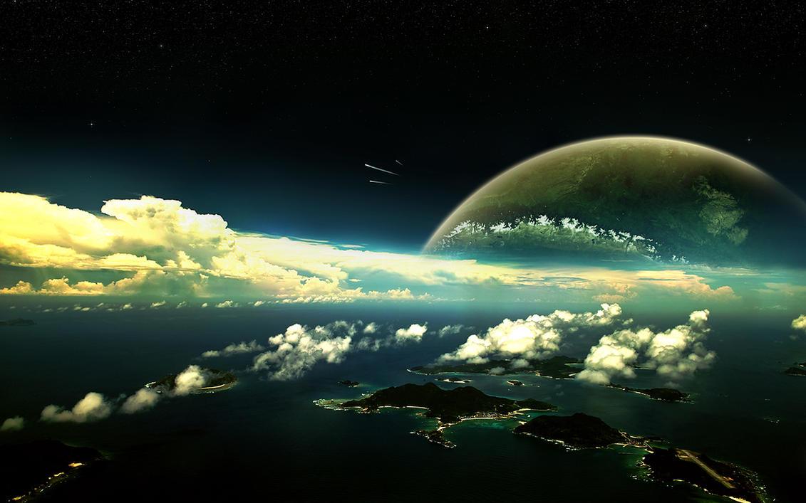 Exosphere by salmanarif