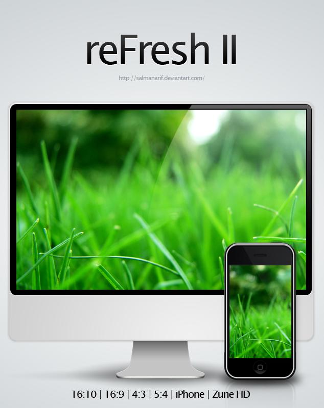 reFresh II by salmanarif