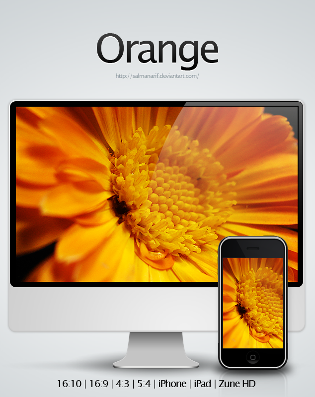 Orange by salmanarif