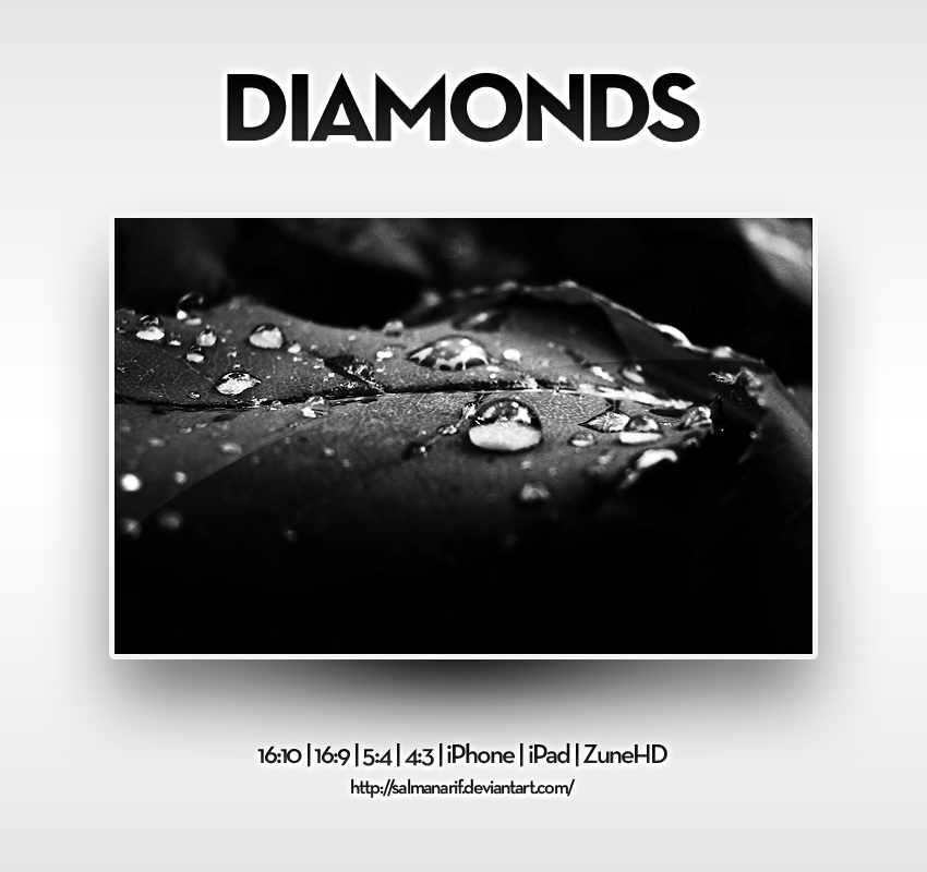 Diamonds by salmanarif