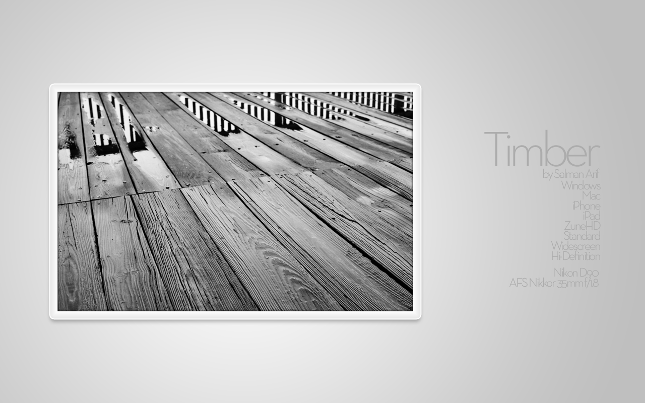 Timber by salmanarif