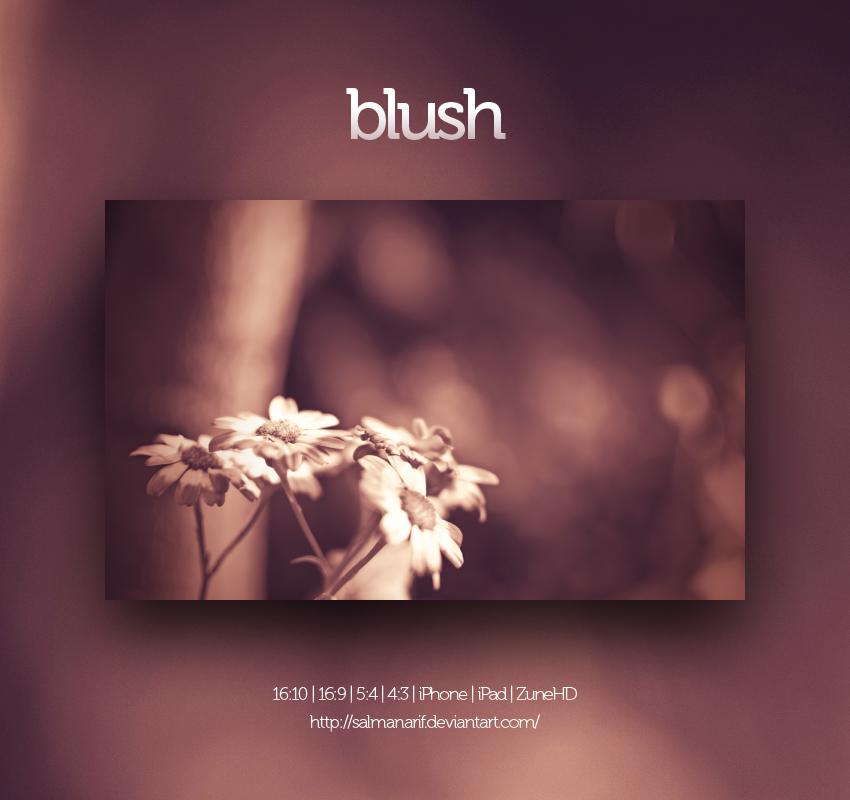 blush by salmanarif