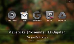 Google Dark Icons