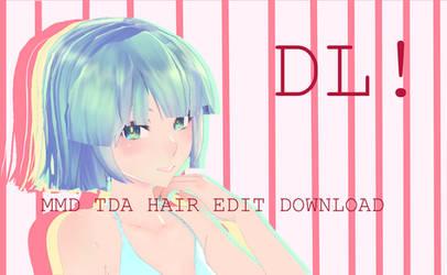 Tda Hair Edit Download