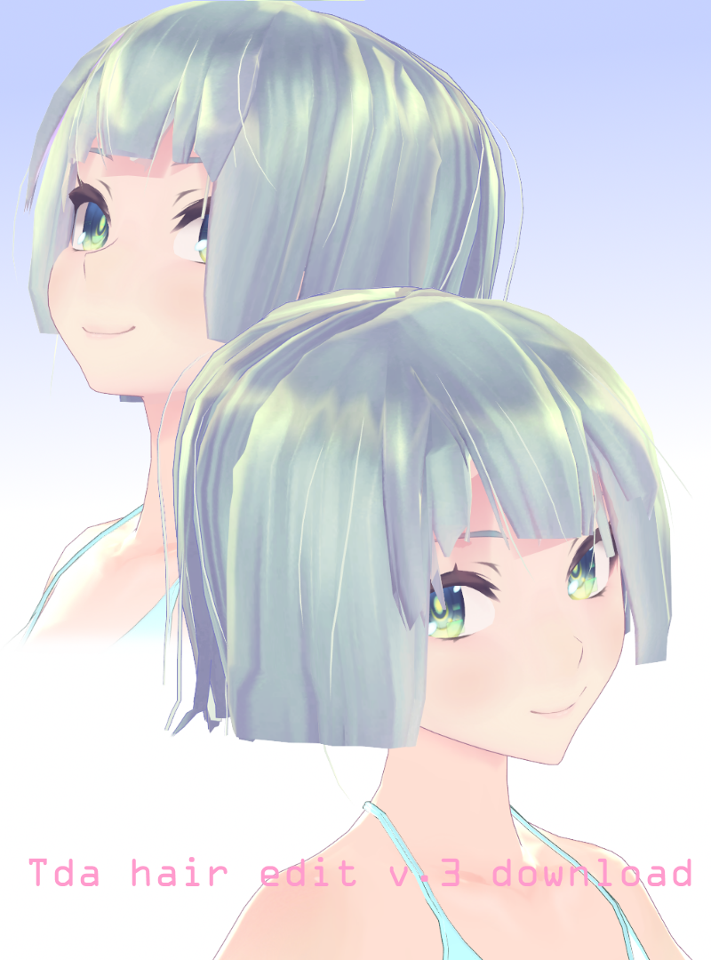 Short Hair On Mikumiku Salon Deviantart