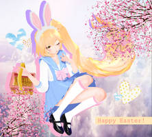 MMD Easter gift Neru-chan ayy