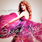 Font Speak Now