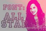 Font All Star