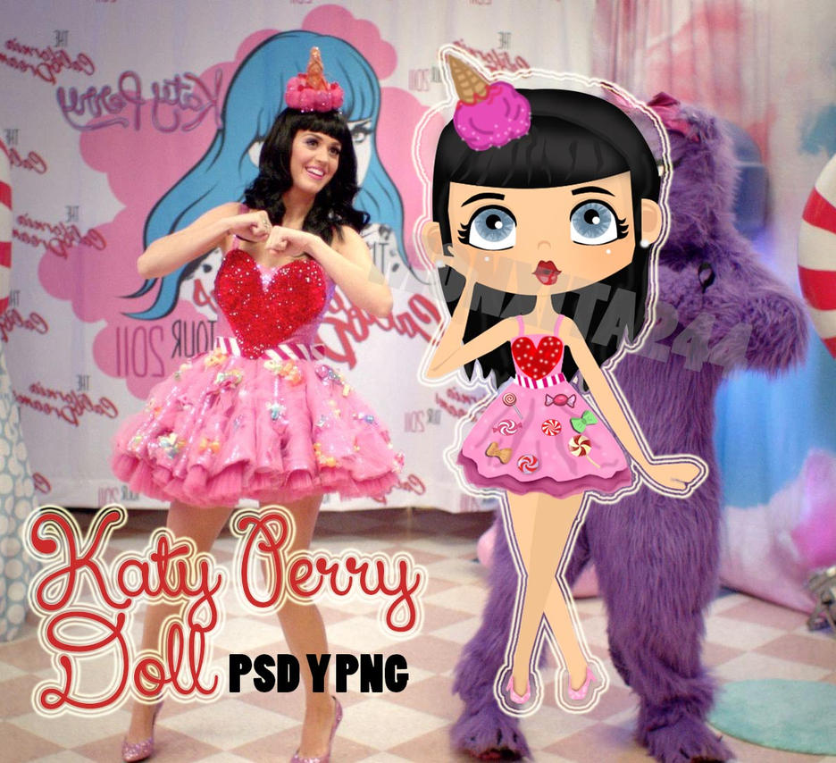 Image Gallery katy perry doll
