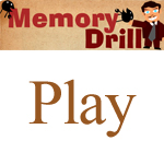 Memory Drill Flash Game by iamcadence