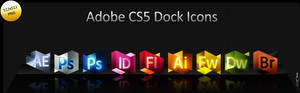 CS5 Dock Icons