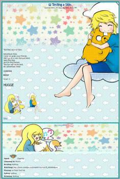 Adventure Time Journal Skin