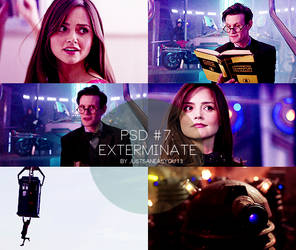 Psd #7: Exterminate by justsaneasyou13