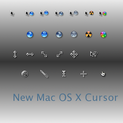 Mac OS X Cursor Pack